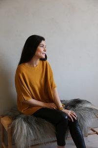 Cashmere tröja